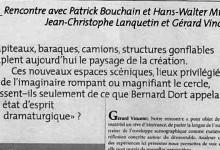 'La philosophie du démontable' // Roundtable for Scenes Urbaines n°2