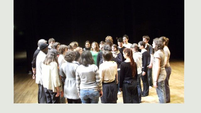 2011 // Blog // A workshop with Boyzie Cekwana // Bordeaux university