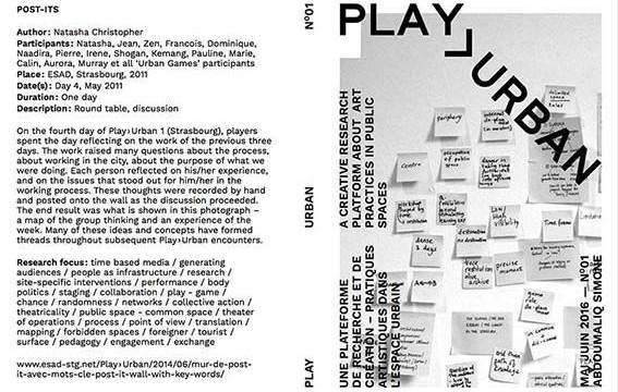 Play>Urban revue n°1 // HEAR Strasbourg, 2016