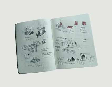 Notes scénographiques